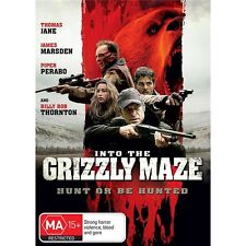 INTO THE GRIZZLY MAZE-Region 4-James Marsden-New AND Sealed