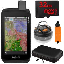 Garmin Montana 700 Rugged GPS Touchscreen Navigator w/ Accessories Bundle