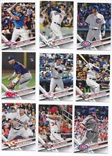 2017 Topps Update Baseball Base cards #US1-#US150 - Complete your set - U PICK!