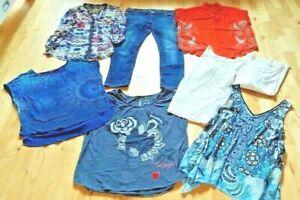 Desigual Paket XL XXL 42 44 46 Jeans Shirts Bluse Top Pulli 8x gebr.und wie Neu