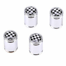 4x Stainless Steel 7mm Football Pattern Car Wheel Tire Valve Stem Air Caps Cover