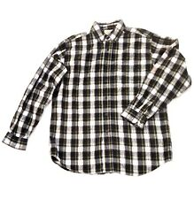 L.L.Bean Flannel Plaid Shirt size Medium