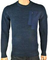 G Star Raw Mens Sweater New S M L XL XXL Side Zip Crew Neck Warm Winter