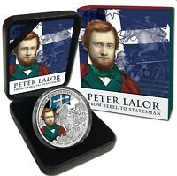 2014 PETER LALOR FROM REBEL TO STATESMAN 1oz Silver Proof Coin