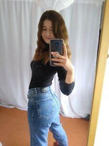 Womens Blue Vintage Versace Jeans Size 38 Uk8