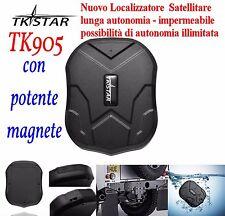 LOCALIZZATORE TRACKER GPS TK 905 LUNGA AUTONOMIA POTENTE MAGNETE SPY ANTIFURTO