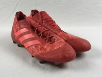 adidas Nemeziz 17.1 FG - Red Cleats (Men's 12) - Used