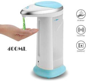 Touchless Hands Free Soap Dispenser IR Sensor Automatic Liquid Sanitizer 400ml