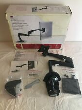 3M Desk Mount Monitor Arm Tilt & Rotate w/Clamp