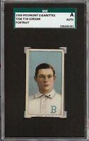 1909-11 T206 Tim Jordan Portrait Piedmont 150 Brooklyn SGC Authentic