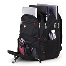 Swiss gear Backpack SWISSGEAR SA8112 Laptop Notebook Shoulder Bag Rucksack 17.1""