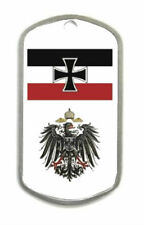 Royal German Prussian Empire Knight Kaiser Iron Cross War Eagle Battle Dog Tag X