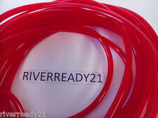 """1/4"""" I.D. Red Fuel-Gas-Line-Hose 3/8"""" O.D. PWC Sea-Doo Jet-Ski Sold by the Foot"""