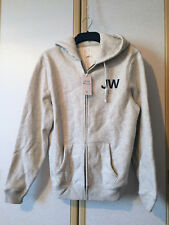 Jack Wills Mens Maridon Grey Cotton Blend Full Zip Hoodie Size M BNWT