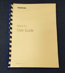 NOKIA 5.1 FULLY PRINTED INSTRUCTION MANUAL USER GUIDE A5