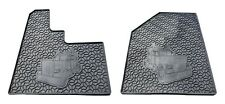 Peterbilt 379 Floor Mat Set (Black 2 PCS)  Heavy Duty (2005 or Newer)