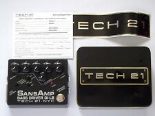 TECH21 SansAmp Bass Driver DI-LB Effects Pedal Japan Limited Edition Model