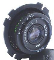 🎥PL mount Industar 50-2 3.5/50 KMZ Pancake Lens  ARRI BMPCC FFG URSA RED EPIC