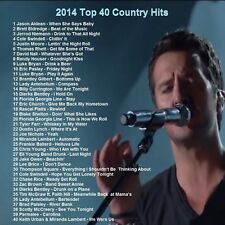 Country Music Promo DVD, Top 40 Country Hit Videos, Best of 2014! ONLY on Ebay!
