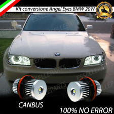LAMPADE LED CREE ANGEL EYES LUCI DI POSIZIONE BMW X3 E83 2006-2007 6000K CANBUS