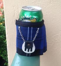 Ramsay Tartan Plaid Beer Bottle Koozie Kilt and Sporran Stocking Filler