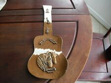 Wall Hanging decoration Uruguay leather guitar key holder souvenir horse gaucho