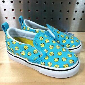 Vans x The Simpsons Toddler Slip-On V Maggie Blue (VN0A348817J) Size US 7.5