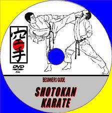 KARATE SHOTOKAN Artes Marciales DVD Experto Instrucción STREET Auto Defensa MMA