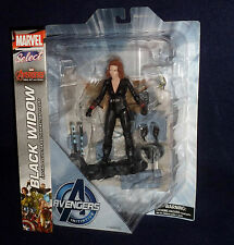"Marvel Select Avengers: Age of Ultron BLACK WIDOW 7"" Action Figure Diamond Toys"