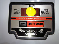 SEARS NO/LOW VOLTAGE CONTROL 113.199900, Craftsman for Radial Arm SAW