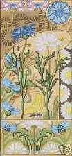 Kit punto croce fiori VERNISSAGE MARGHERITA 12x27cm FAI TE #cp5570
