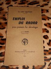 Emploi du radar pour prévenir les abordages - L. Oudet - 1959