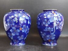 Vintage, Paire de Vase en Porcelaine Japonnaise, Fukagawa, Arita Japon