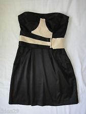 Cooper St Ladies Black & Beige Strapless Party Dress Size 8