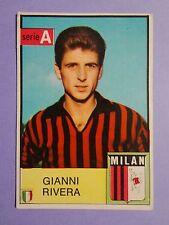FIGURINA CALCIATORI MIRA FOOTBALL STICKERS RIVERA MILAN 1965-66 RARA NEW-FIO