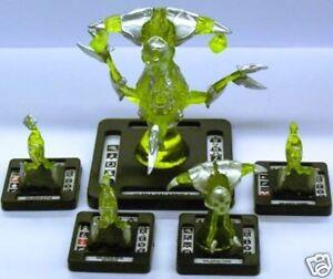 Monsterpocalypse - - - Ultra Galaxius-4 Set - - #1-5