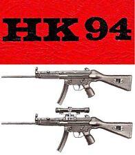 HECKLER & KOCH HK94 RIFLE OWNERS INSTRUCTION MANUAL -HK H&K 94 9mm