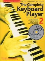 Complete Keyboard Player Learn to Play Easy Beginner Lesson Music Book 2 & CD