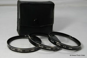 DeJur 52mm kit +1 2 4 Filters set close-up macro