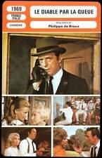 LE DIABLE PAR LA QUEUE - Montand,Schell(Fiche Cinéma)1968  The Devil by the Tail