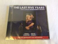 The Last Five Years 2013 Off Broadway Cast Recording CD Adam Kantor Betsy Wolfe
