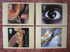Set di SCHEDE PHQ TIMBRO N. 226 SOUND E VISION, 2000. 4 Scheda Set. ottime CONDIZIONI.