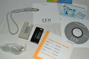 Creative ZEN Nano Plus 1GB FM Radio Audio Digital MP3 Media Player Black
