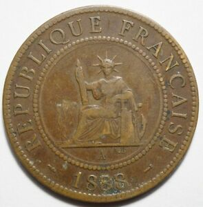 INDOCHINE : 1 CENT. 1888A