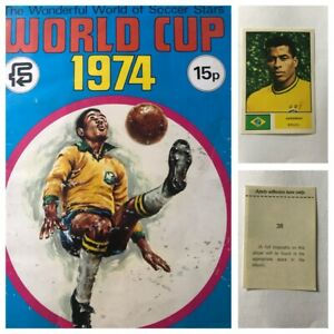 FKS GERMANY 1974 WORLD CUP Stickers Complete your set various quants available