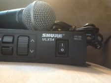 Shure ULXS4 G3 Wireless Handheld Microphone System 470-506 Mhz