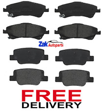 TOYOTA VERSO 2.0 D-4D (2009-2013) FRONT & REAR BRAKE PADS PAD SET - BRAND NEW