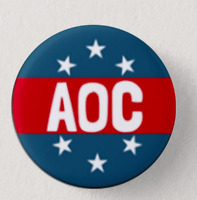 Alexandria OCASIO-CORTEZ AOC (set Of 3) - Button Pin Badge  Pack - BRAND NEW!