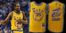BRAND NEW Kevin Durant Golden St. Warriors Yellow Jersey Men Medium