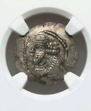 Persis Kingdom, Pakor II Hemidrachm NGC Choice AU 4/3 Ancient Silver Coin